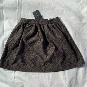 Zara Woman - gray flare skirt size XS length 18""